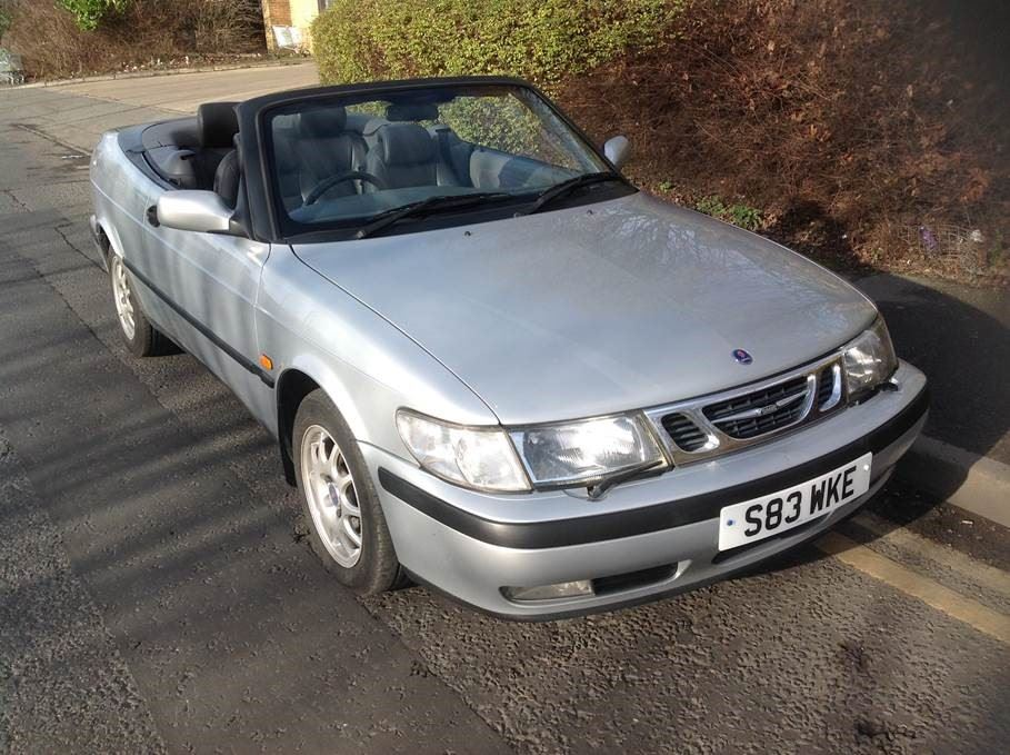 Clic Winter Warmer 28 Feb 2017 1998 Saab 9 3 Se Automatic Convertible