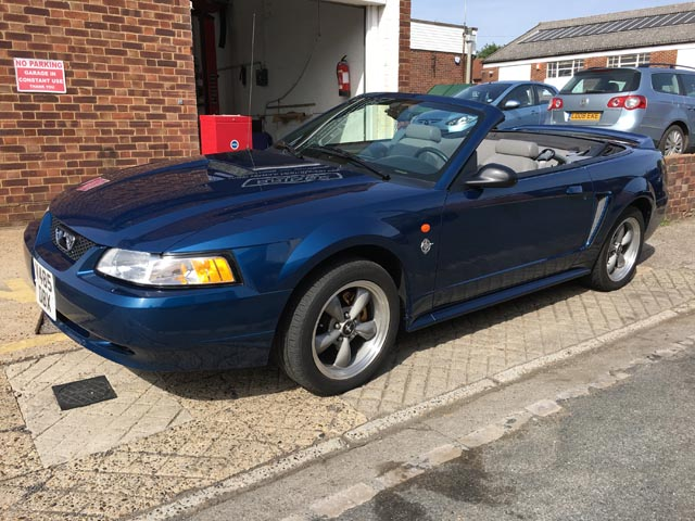 Jaguar Heritage Clic And Sports Cars 16 Sep 2017 1999 Ford Mustang Gt Convertible Ltd Edition 35th Anniversary