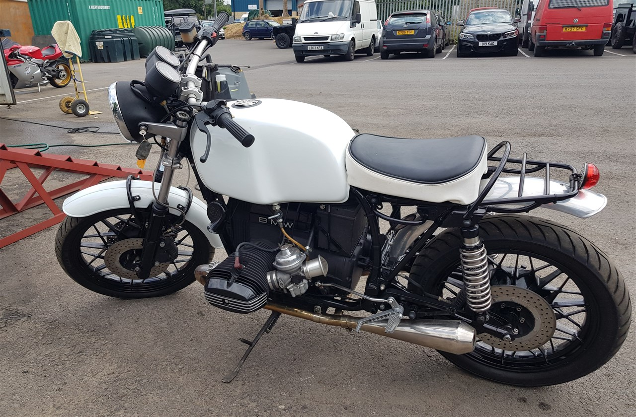 Jaguar Heritage Classic And Sports Cars 15 Sep 2018 1983 Bmw R100 Cafe Racer