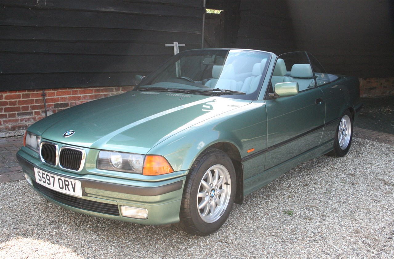Jaguar Heritage Classic And Sports Cars 15 Sep 2018 1998 Bmw E36 318 Convertible