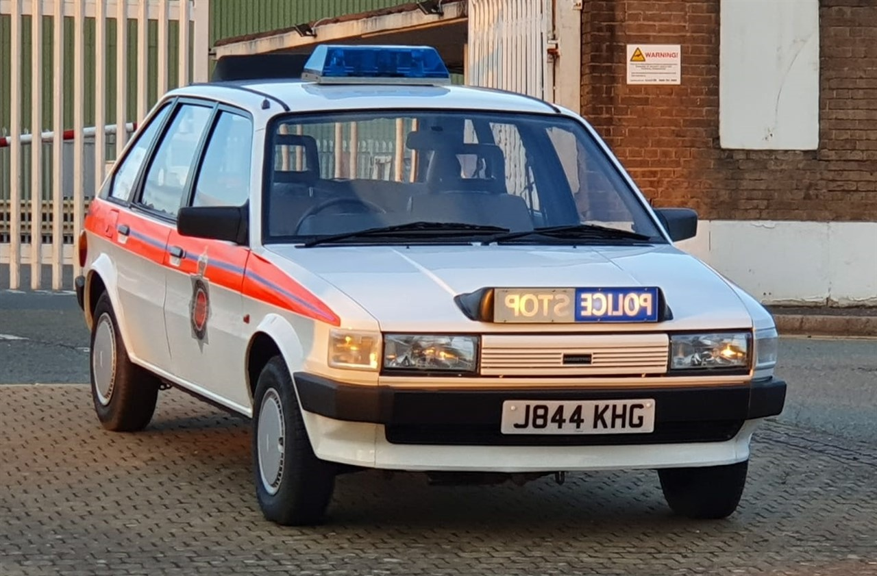 Police Car Auctions Near Me >> Spring Classic 30 Apr 2019 1992 Rover Maestro Police Car