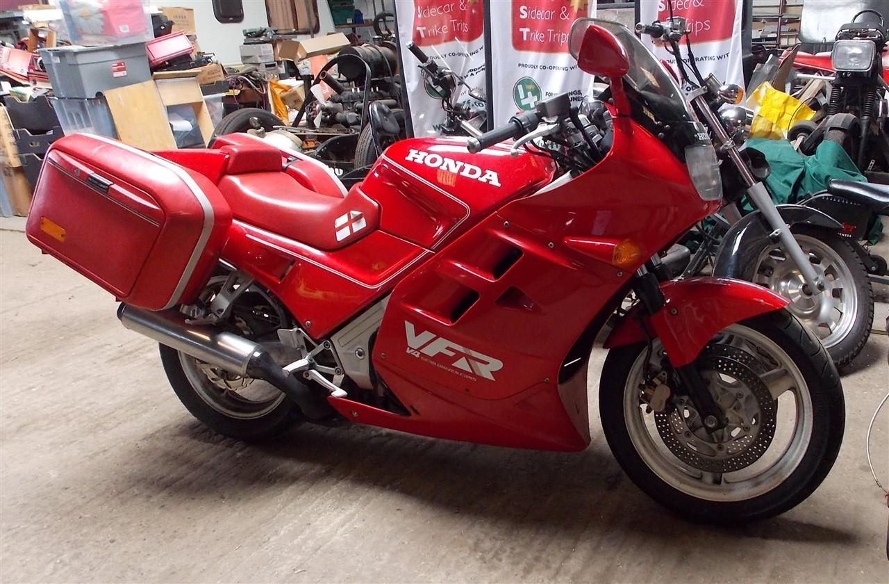 Honda VFR 6X Special - Classic Motorbikes