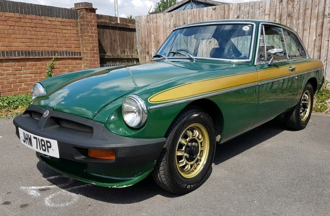 1975 MG B GT Jubilee