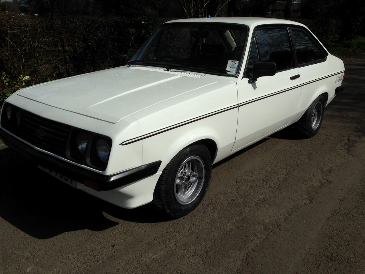 1980 Ford Escort Mk2 RS2000