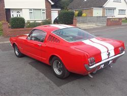 Autumn Classic: 27 Oct 2015 - 1965 Ford Mustang V8 Fastback