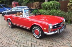 Mercedes Pagoda SL 280 - Click to view