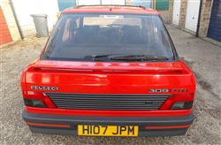 Peugeot 309 GTi with only 131 miles