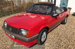 Vauxhall Cavalier Convertible - Click to view