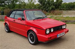 VW Golf GTI Sportline Convertible