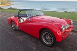 Triumph TR2 Original Derrington Modified - Click to view